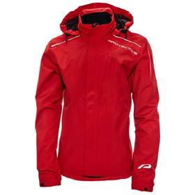 Protective P-Rain II Jacket Men dark red